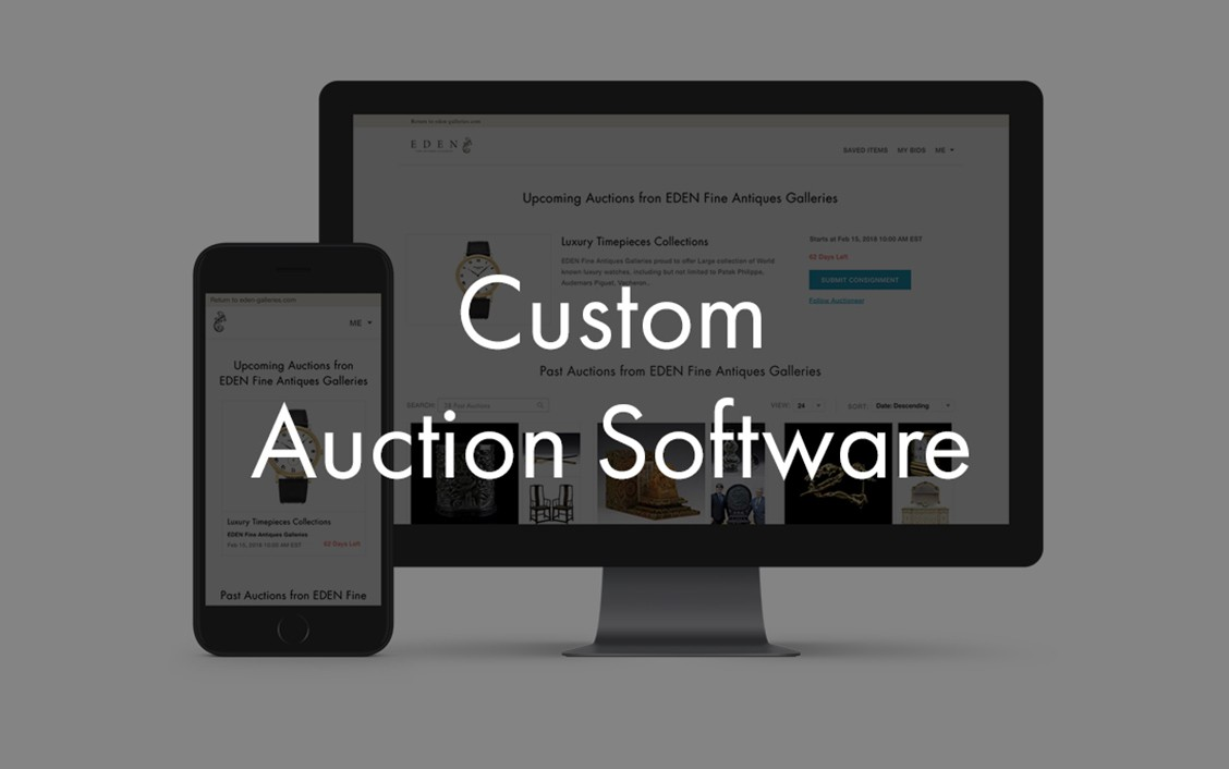 liveauctioneers custom auctIon software