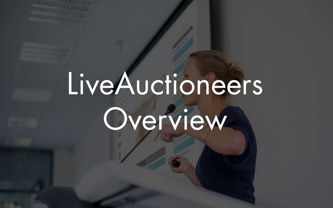 liveauctioneers overview