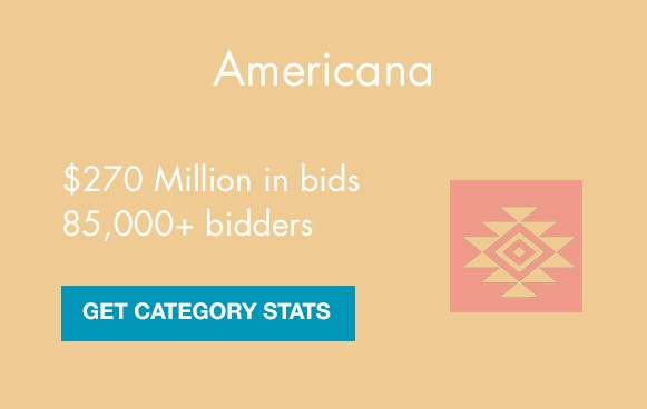 americana auctions on liveauctioneers