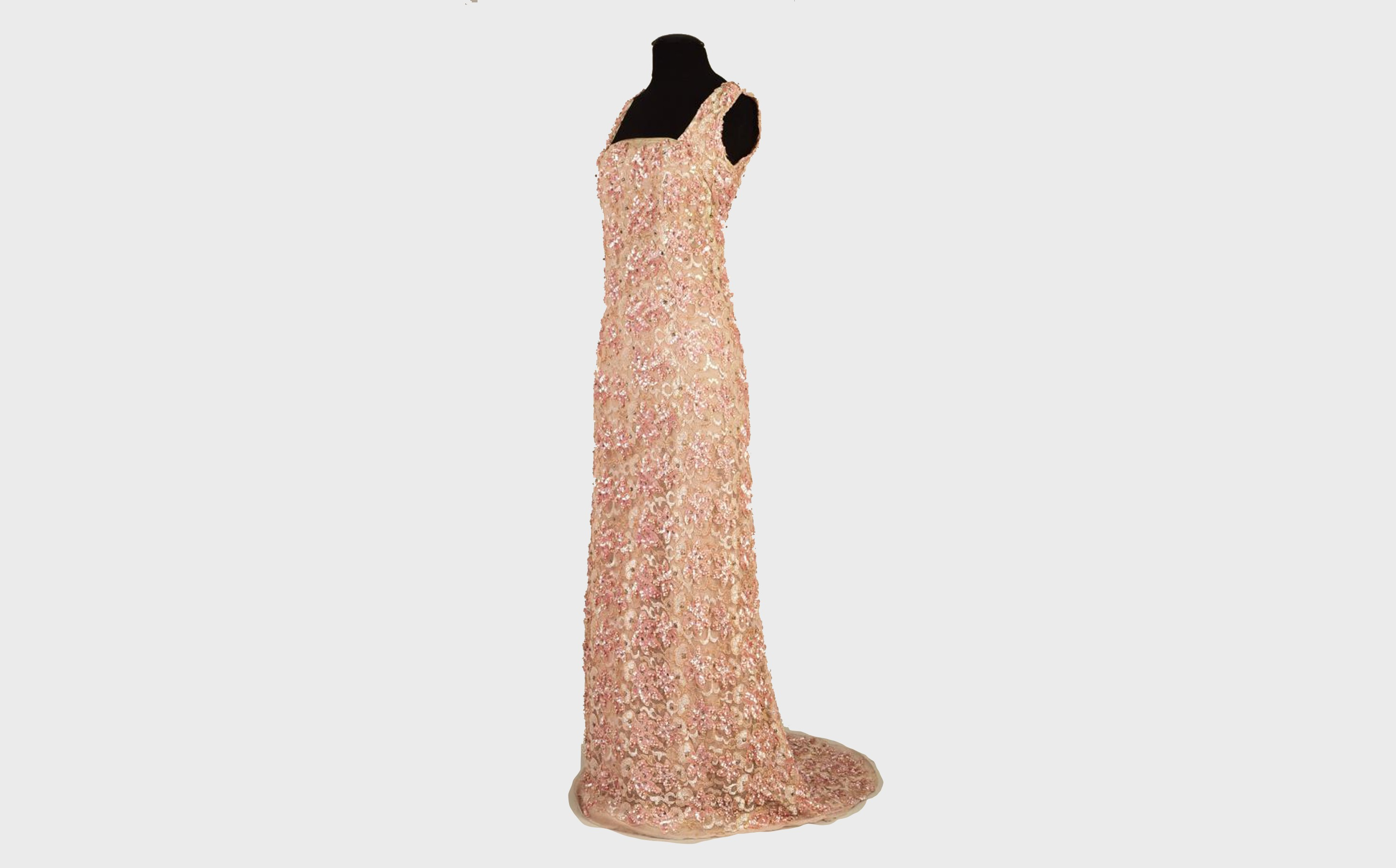 Queen Mary'S Beaded And Sequined Gown, 1930S