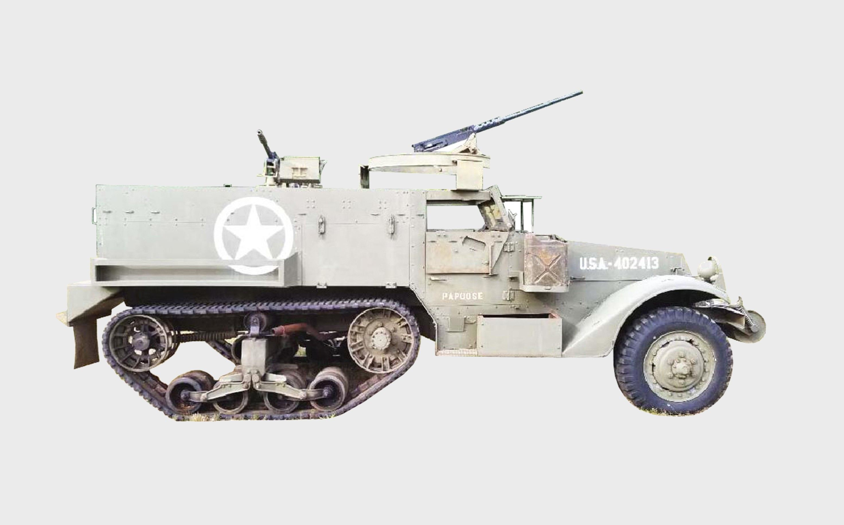 WWII US Military M3 (M2A1)